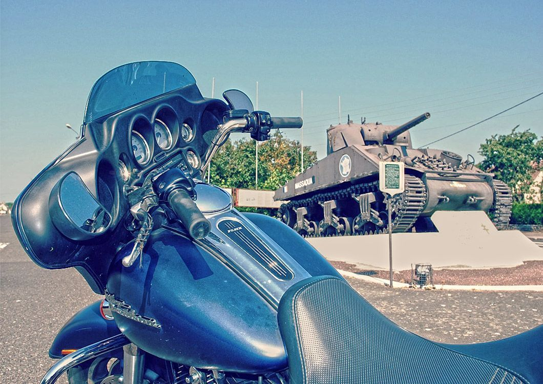 WestForever | Self-guided Motorcycle Tour - D-Day Tour / Paris - Normandy