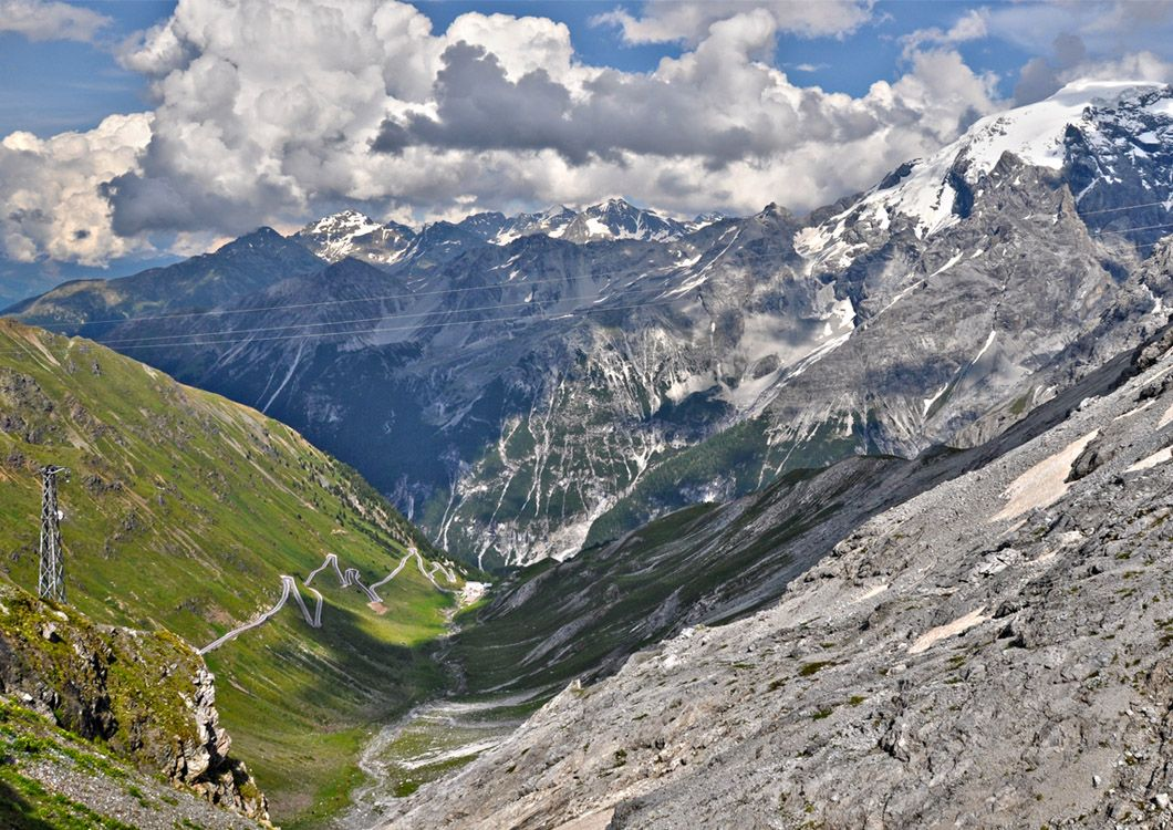Stelvio Pass and Mountains - Route of the Alps