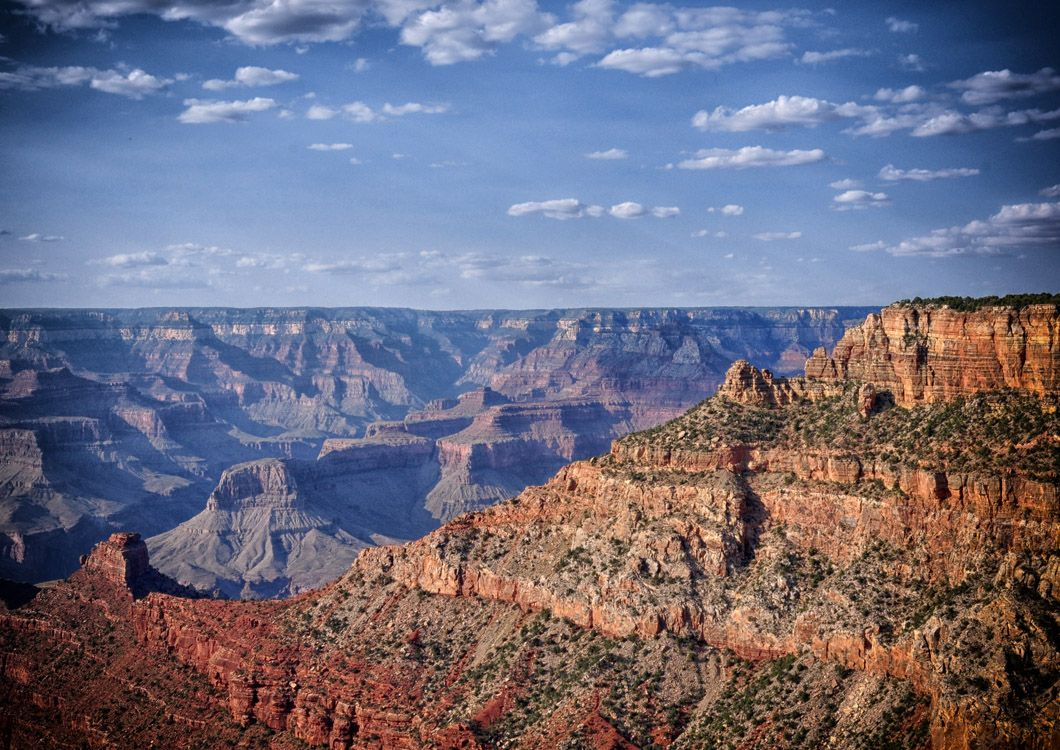 Great canyon as seen during the west forever Canyon Country Tour